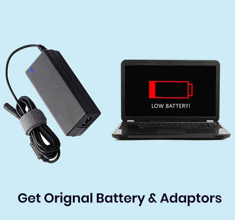 buy Laptop battery and adaptor